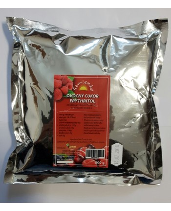 Ovocný cukor - Erythritol 500g
