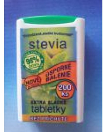 Stevia tablety 200ks