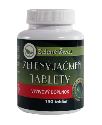 Zelený jačmeň tablety / 150tbl