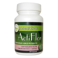 ActiFlor - Bakteriálne kultúry s prebiotikom 30 kapsúl