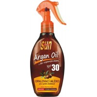 SUN ARGAN opaľovacie mlieko SPF30 s arganovým olejom, 200ml