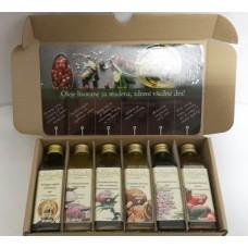 Grapoila oleje - Darčekové balenie (6x 40ml)