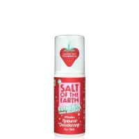 Prírodný kryštálový deodorant PURE AURA - jahoda-sprej 100ml