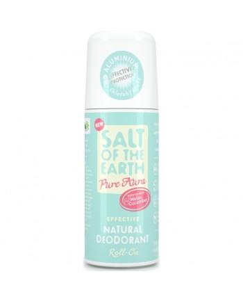 Prírodný kryštalový deodorant PURE AURA-melón, uhorka s guličkou 75ml