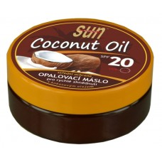 Coconut oil opaľovacie maslo SPF20 s kokosovým olejom, 200ml
