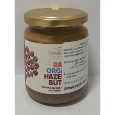 Pasta z lieskových orechov  ORGANIC RAW 250g