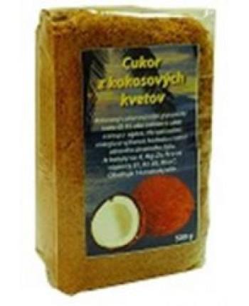 Kokosový cukor 100 % prírodný  500g