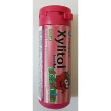 Xylitol žuvačka pre deti, jahoda