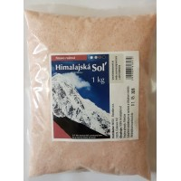 Himalajská soľ 1kg
