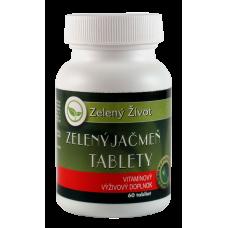 Zelený jačmeň tablety / 60tbl