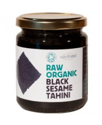 Pasta čierne tahini ORGANIC RAW 250g