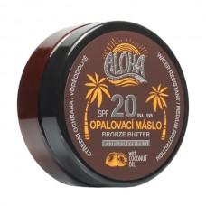SUN ALOHA opaľovacie maslo SPF 20 pre rýchle zhnednutie 200ml