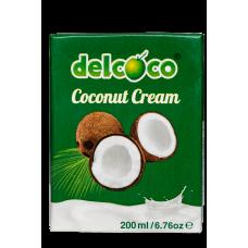 delcoco Kokosová smotana 24% 200ml