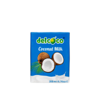 delcoco Kokosová smotana 17% 200ml