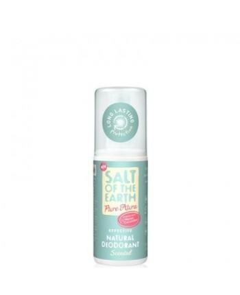 Salt of the Earth deodorant PURE AURA - melón, uhorka-sprej 100ml