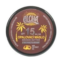 SUN ALOHA opaľovacie maslo SPF 15 pre rýchle zhnednutie 200ml