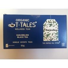 Organický čaj T-Tales Darjeeling (čierný čaj)