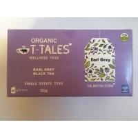 Organický čaj T-Tales Earl grey (čierný čaj)