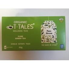 Organický čaj T-Tales Pure green (zelený čaj)