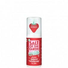 Salt of the Earth deodorant PURE AURA - jahoda-sprej 100ml