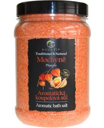 Body Tip Soľ do kúpeľa aromatická -Machovka, 1500g