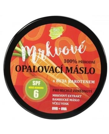 Vivaco BIO Mrkvové opaľovacie maslo s betakaroténom SPF6, 150ml